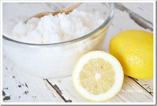 Sugar Scrub Recipe Lemon