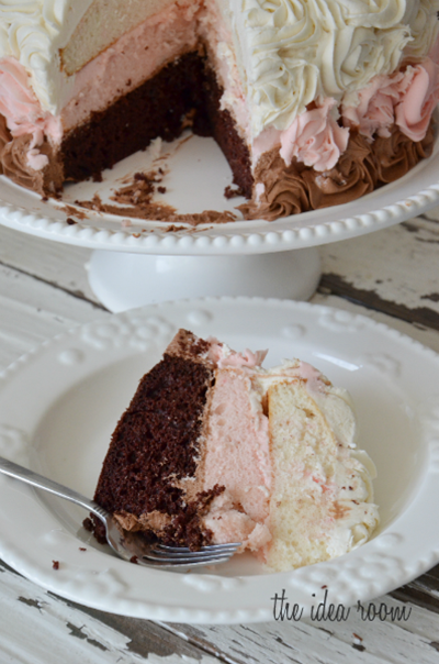 Neapolitan-Cake