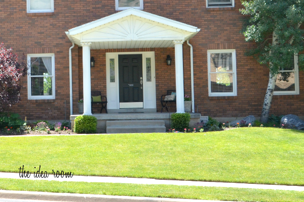 front curb appeal after