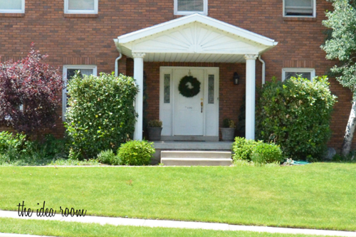 front curb appeal before 1