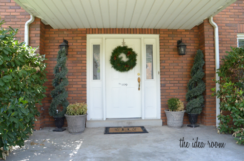 front curb appeal before