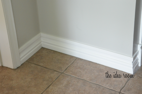 Laundry Room Baseboard 4 Wm