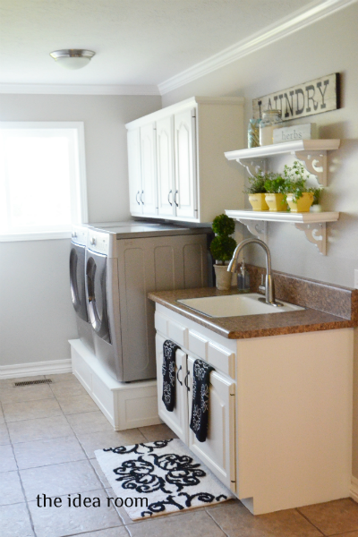 Inexpensive Laundry Room Storage Ideas