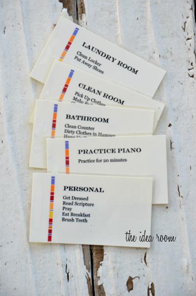 chore card 2
