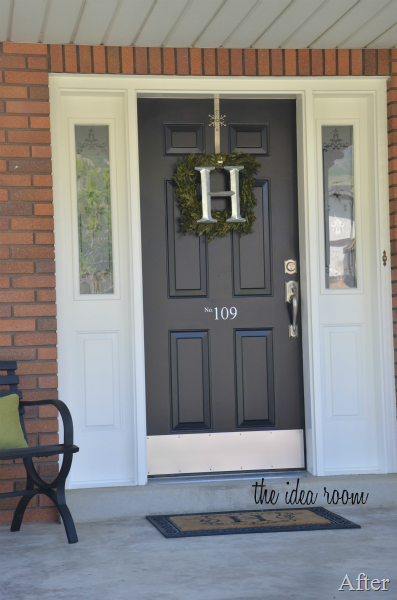 How to paint a door for Exterior door paint