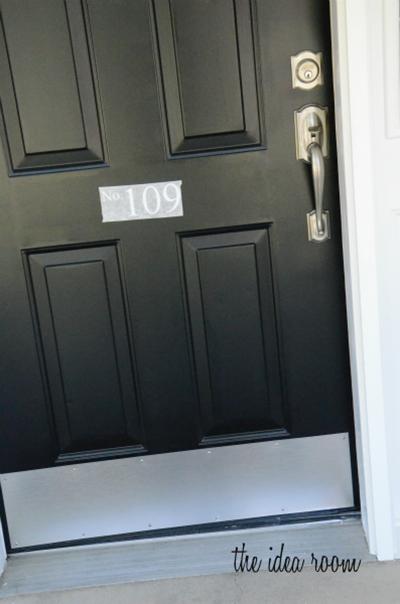 Howto Paint A Metal Front Door