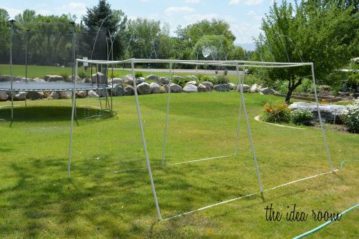 PVC Sprinkler: Lowe's outdoor challenge