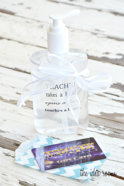 Personalized Hand Sanitizer Bottle Labels