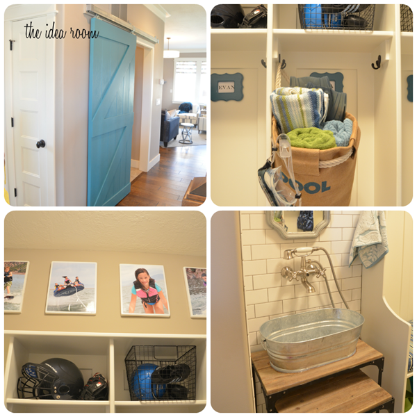 house collage laundry room