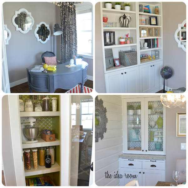 house office pantry collage