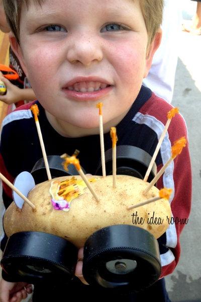 potato car 14