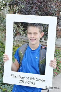 C first day of school 12
