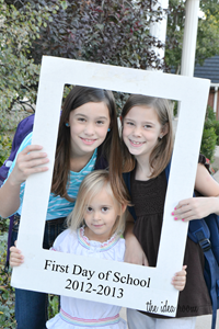 First day of school girls 12