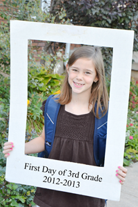 H first day of school 12