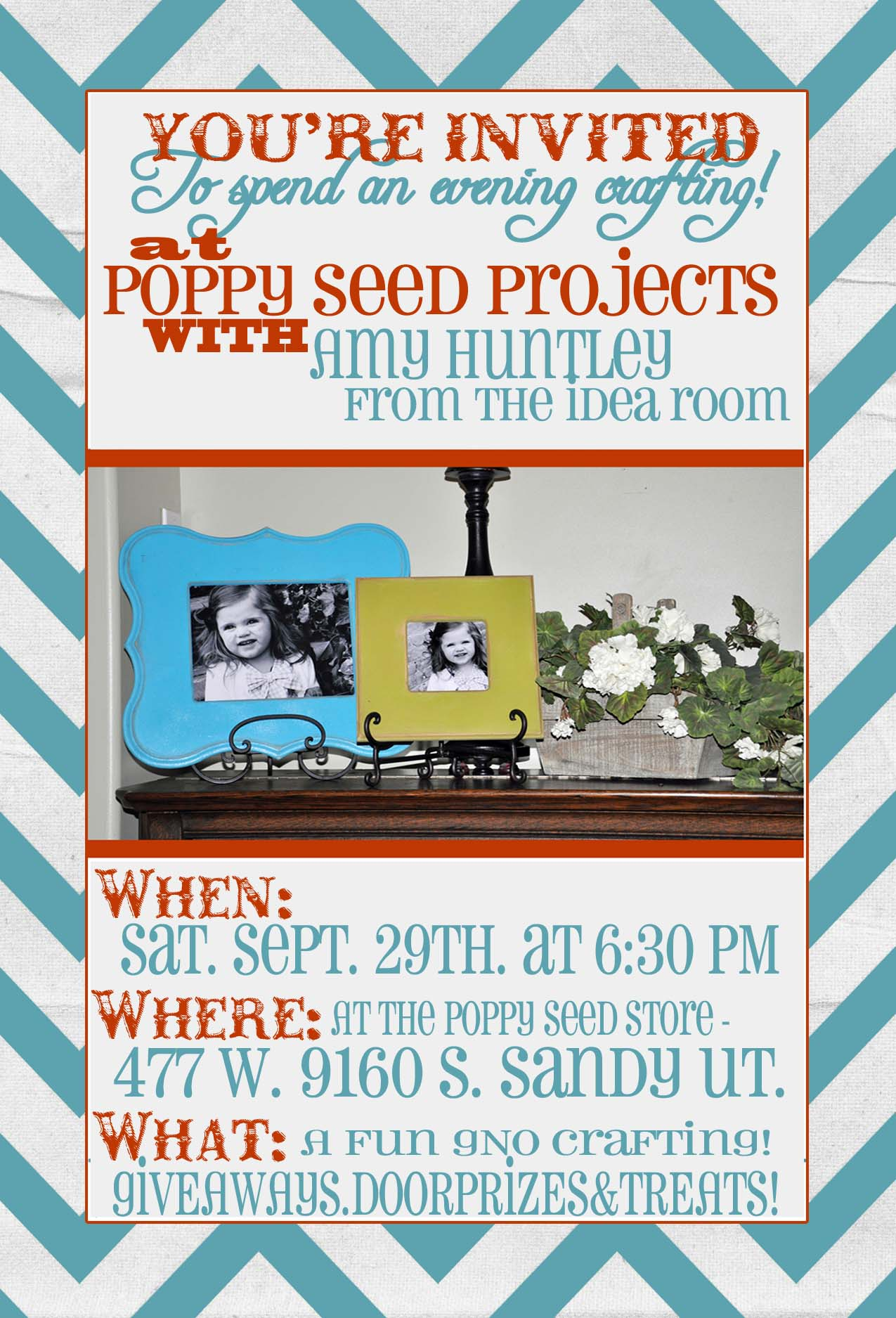 GNO with Poppy Seed Projects and The Idea Room
