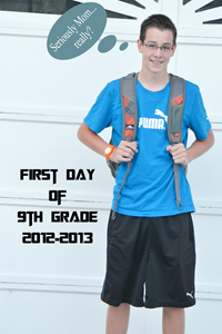 J First day of school 12