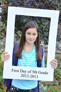 L first day of school 12