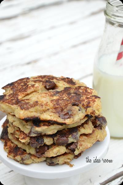 Oatmeal-Banana-Pancakes