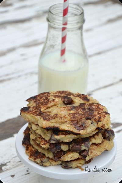 Oatmeal-Pancakes