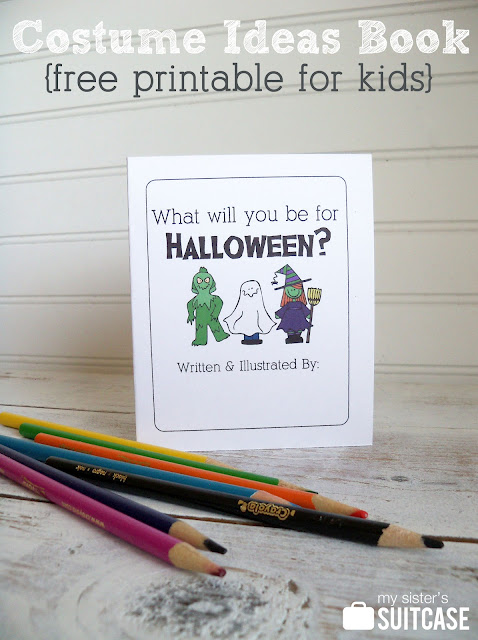 Halloween Kids Printable Book