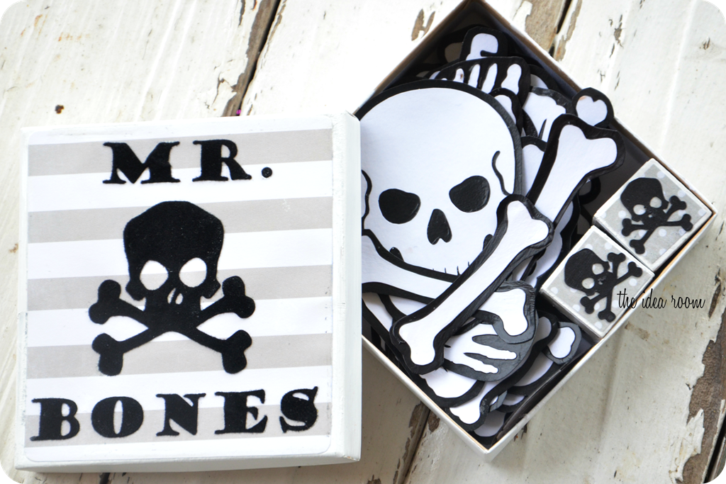 Halloween Games—Mr. Bones