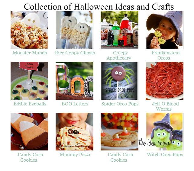 Halloween Crafts & Decor Ideas