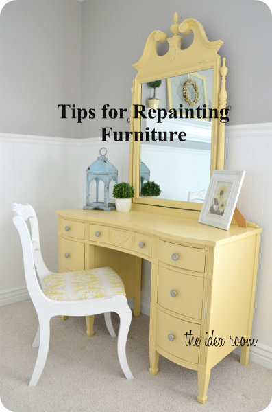 Tips for Re-Painting Furniture