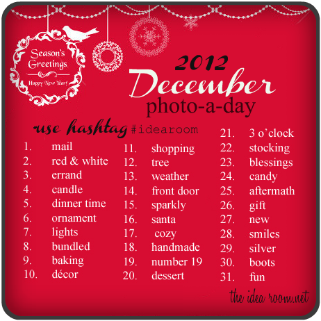 December Photo-A-Day