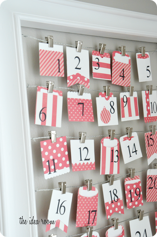 Advent Calendar List Ideas : Holiday advent calendar activities the idea room