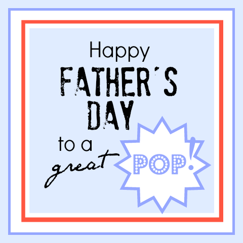 Father's Day POP tag theidearoom.net