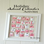 Holiday Advent Calendar Activities