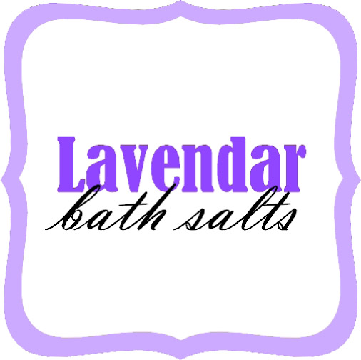 Lavendar Bath Salts copy