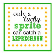 leprechaun sprite tag a