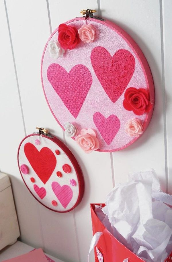 Make-valentine-decor-using-fabric-and-Mod-Podge
