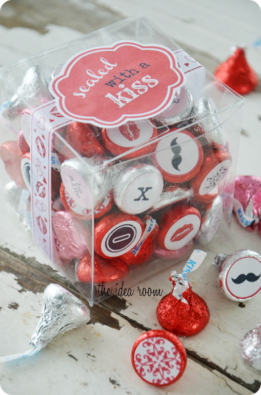 Homemade Valentines Sealed With A Kiss