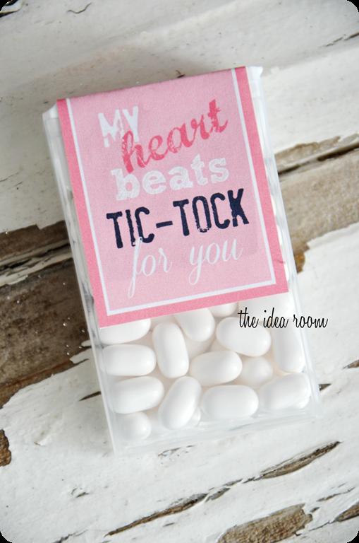 Tic-Tacs Tik-Tok Valentine