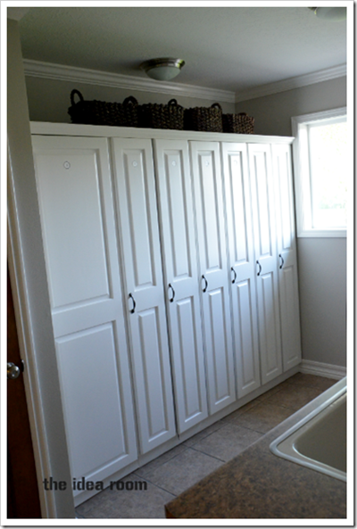 Laundry room lockers