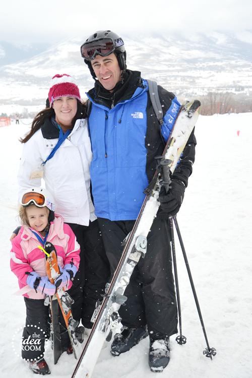 T first ski