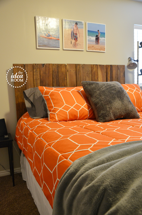 Boys Headboard Ideas diy pallet headboard - the idea room