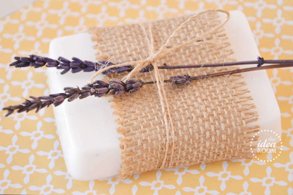 Homemade Lavender Soap - The Idea Room