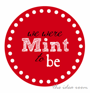 mint to be round red