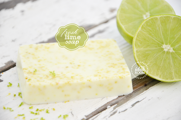 soap lime label