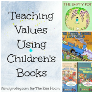 Teaching Values Through Children's Books