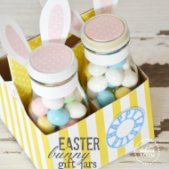 Easter Bunny Gift Jars & Labels