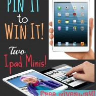 Pin It To Win It–iPad Mini Giveaway
