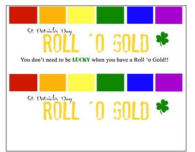 Roll 'o Gold Rolo Labels
