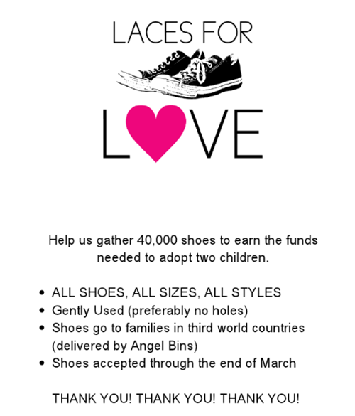 laces for love