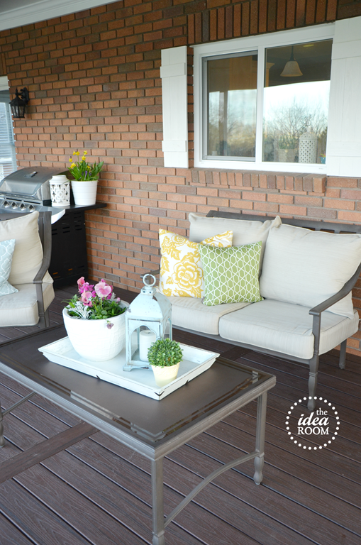 outdoor deck reveal