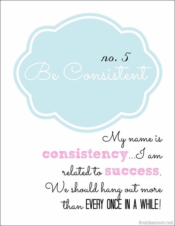 Blogging-Consistency
