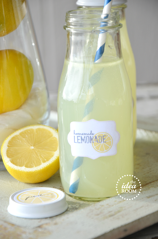 Homemade-Lemonade-Recipe theidearoom.net
